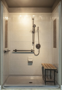 Beau Bathroom Design For Aging In Place. Elderly Handicap Bathroom Manitowoc