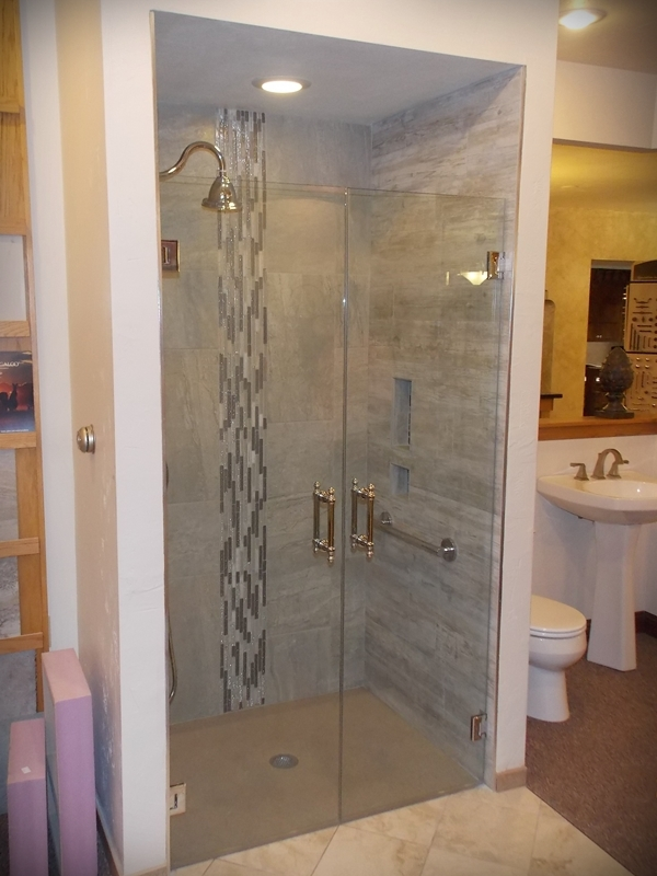 Bathroom shower remodel in Manitowoc County