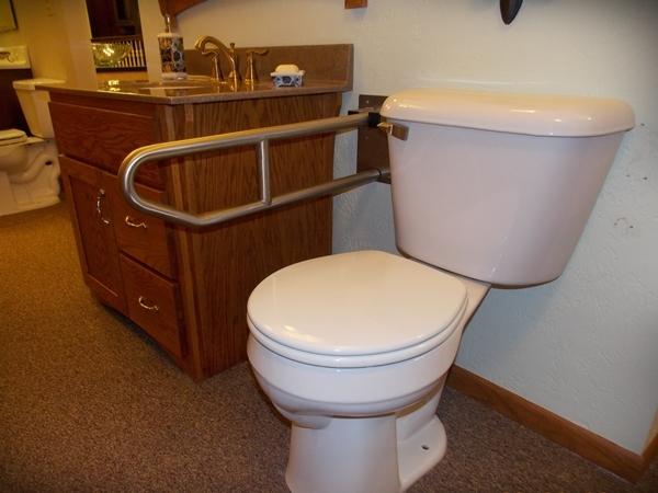 Toilet Grab Bar Installation Manitowoc Bathroom Safety Remodel Sheboygan Senior Bathroom