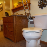 Toilet grab bar for senior bathroom Sheboygan