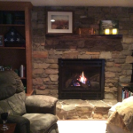 Remodeled Fireplace in Manitowoc Home