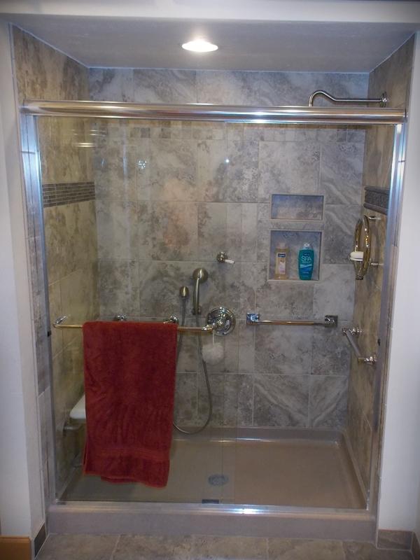 Senior Bathroom Remodel Plymouth WI | Grab Bar Installation ...